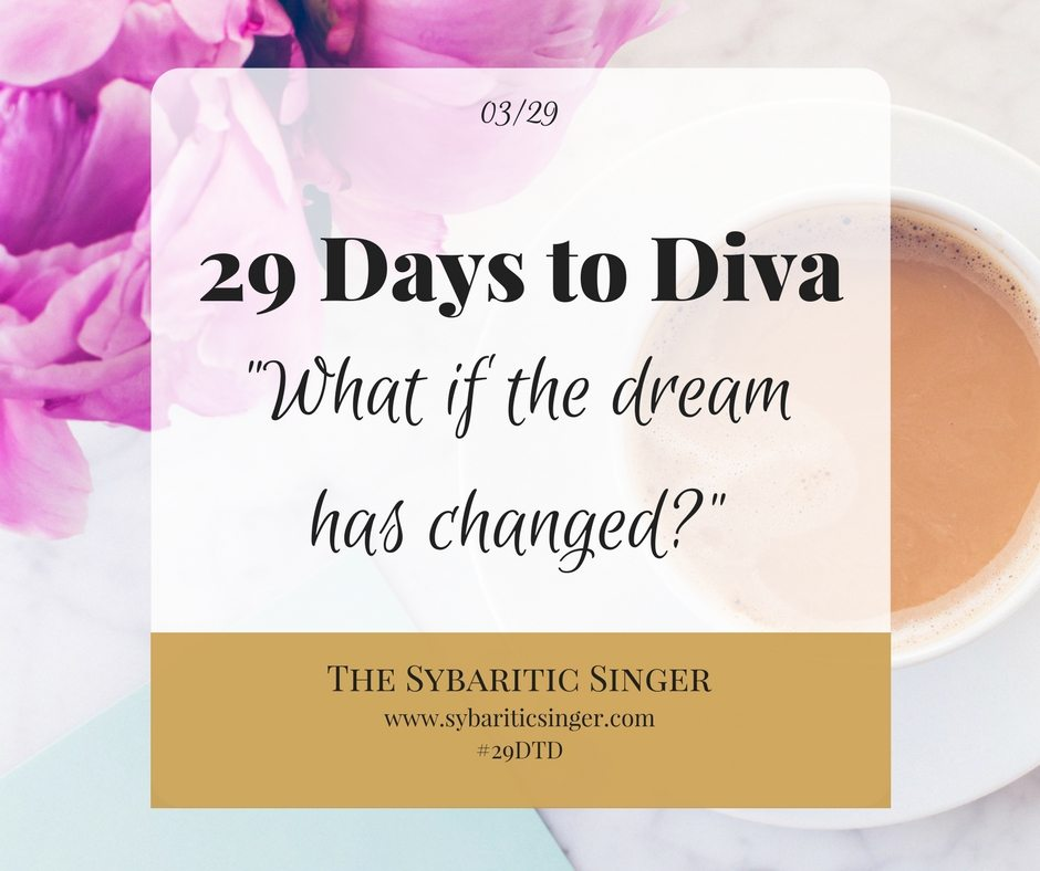 29 Days to Diva | Sybaritic Singer | www.sybariticsinger.com